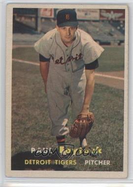1957 Topps #77 - Paul Foytack