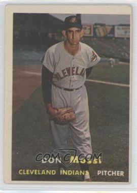 1957 Topps #8 - Don Mossi