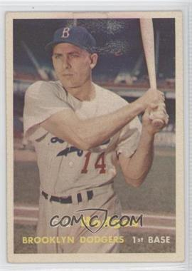 1957 Topps #80 - Gil Hodges [Good to VG‑EX]