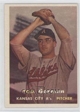 1957 Topps #87 - Tom Gorman