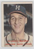 Warren Spahn [Good to VG‑EX]