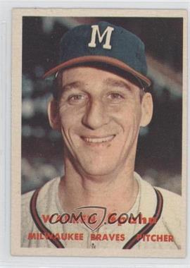1957 Topps #90 - Warren Spahn