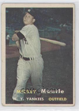 1957 Topps #95 - Mickey Mantle