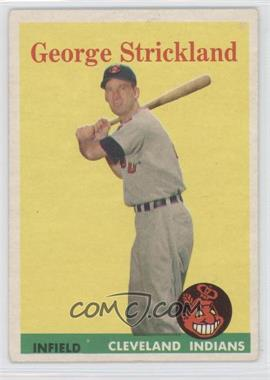 1958 Topps - [Base] #102 - George Strickland
