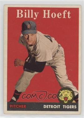 1958 Topps - [Base] #13.1 - Billy Hoeft (player name in white)