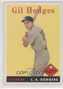1958 Topps - [Base] #162 - Gil Hodges