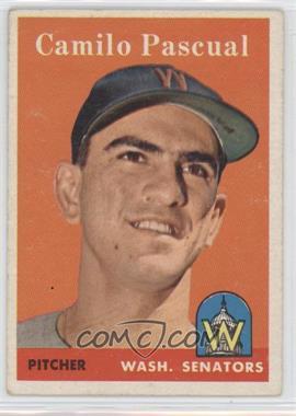 1958 Topps - [Base] #219 - Camilo Pascual