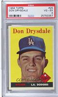 Don Drysdale [PSA 4]