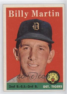 1958 Topps - [Base] #271 - Billy Martin