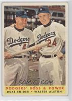 Dodgers' Boss & Power (Duke Snider, Walter Alston) [Good to VG‑…