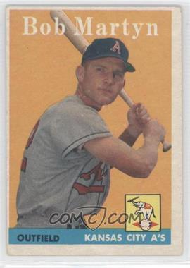 1958 Topps - [Base] #39 - Bob Martyn