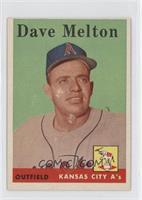 Dave Melton [GoodtoVG‑EX]