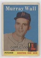 Murray Wall [Poor]