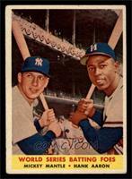 World Series Batting Foes (Mickey Mantle, Hank Aaron) [VG]