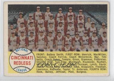 1958 Topps - [Base] #428.2 - Cincinnati Reds Team