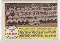 Brooklyn/Los Angeles Dodgers Team [GoodtoVG‑EX]