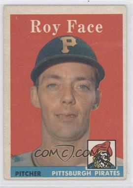 1958 Topps - [Base] #74 - Roy Face