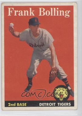 1958 Topps - [Base] #95 - Frank Bolling