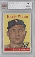 Early Wynn (team name in white) [BVG7]