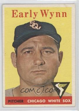 1958 Topps #100.1 - Early Wynn (team name in white) [Good to VG‑EX]