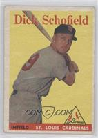 Dick Schofield [GoodtoVG‑EX]