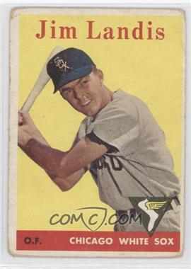 1958 Topps #108 - Jim Landis