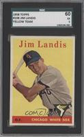 Jim Landis (team name in yellow letters) [SGC 60]