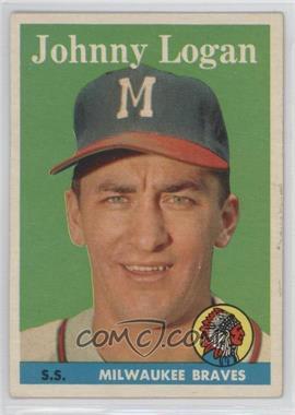 1958 Topps #110 - Johnny Logan