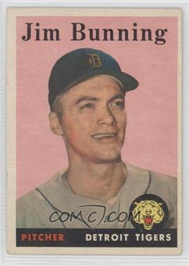 1958 Topps #115 - Jim Bunning