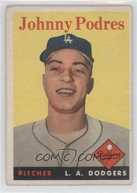 1958 Topps #120 - Johnny Podres [Good to VG‑EX]