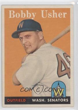 1958 Topps #124 - Bob Usher [GoodtoVG‑EX]