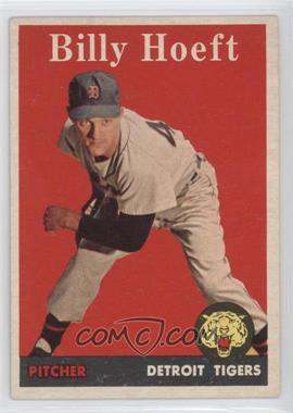 1958 Topps #13 - Billy Hoeft