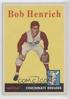 Bobby Henrich [Good to VG‑EX]