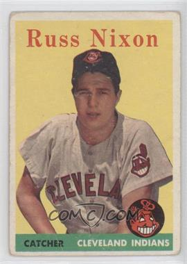 1958 Topps #133 - Russ Nixon [Good to VG‑EX]