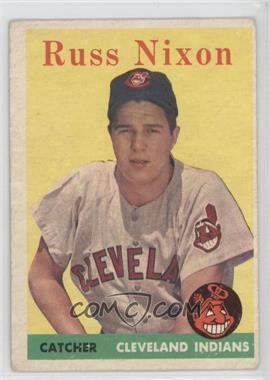 1958 Topps #133 - Russ Nixon [GoodtoVG‑EX]