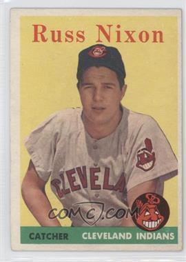 1958 Topps #133 - Russ Nixon