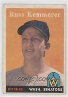 Russ Kemmerer [Good to VG‑EX]