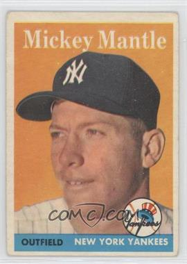 1958 Topps #150 - Mickey Mantle