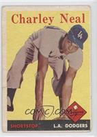 Charlie Neal [GoodtoVG‑EX]