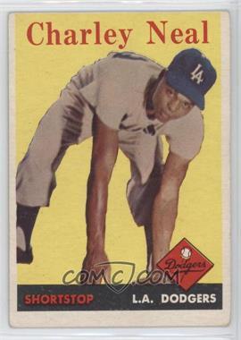 1958 Topps #16 - Charlie Neal
