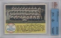 Kansas City Athletics Team [BVG/JSA Certified Auto]