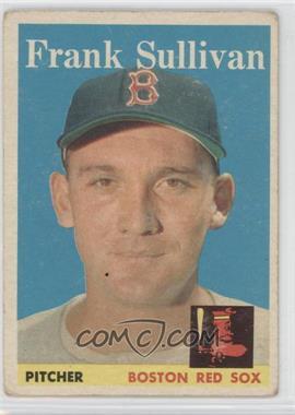 1958 Topps #18 - Frank Sullivan