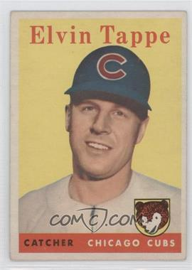 1958 Topps #184 - El Tappe