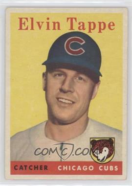 1958 Topps #184 - El Tappe [GoodtoVG‑EX]