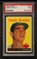 Sandy Koufax [PSA7]
