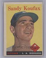 Sandy Koufax [VeryGood‑Excellent]