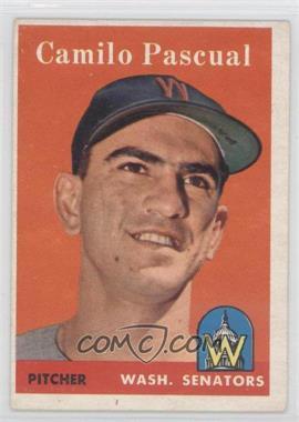 1958 Topps #219 - Camilo Pascual