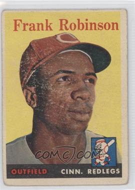 1958 Topps #285 - Frank Robinson [Good to VG‑EX]
