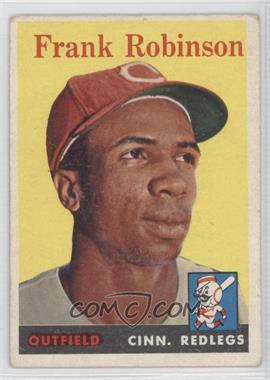 1958 Topps #285 - Frank Robinson [GoodtoVG‑EX]