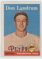 Don Landrum [Good to VG‑EX]